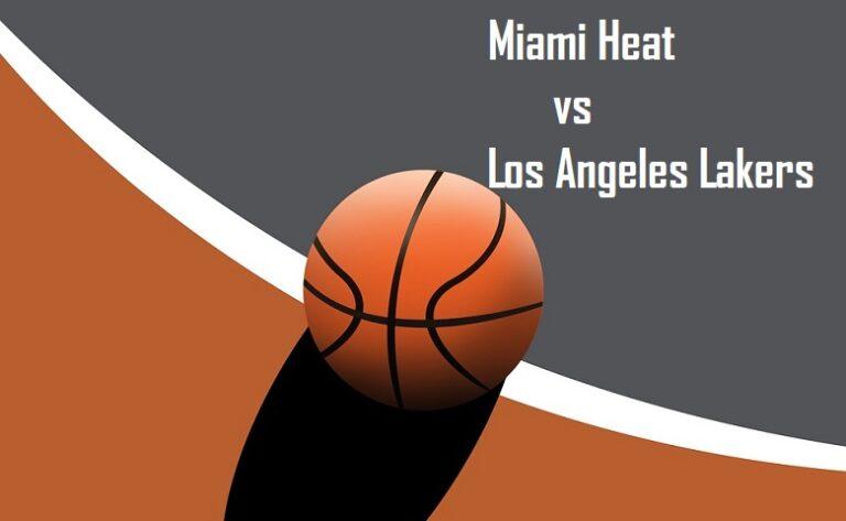 Miami Heat vs Los Angeles Lakers Game 4 NBA Finals