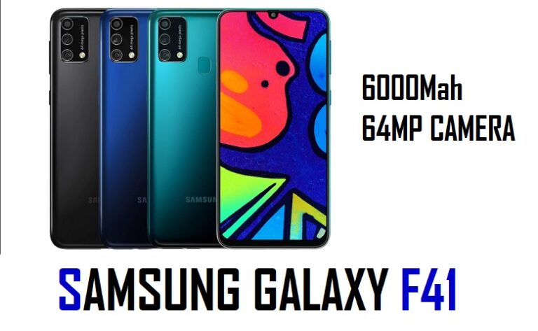 Samsung Galaxy F41 Review and Features