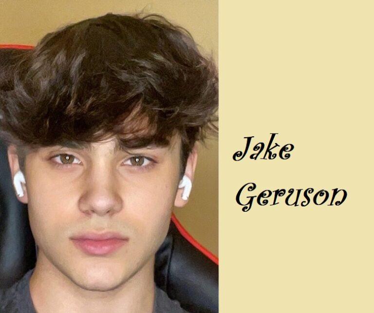 A 15 years old social media Influencer named Jake Geruson
