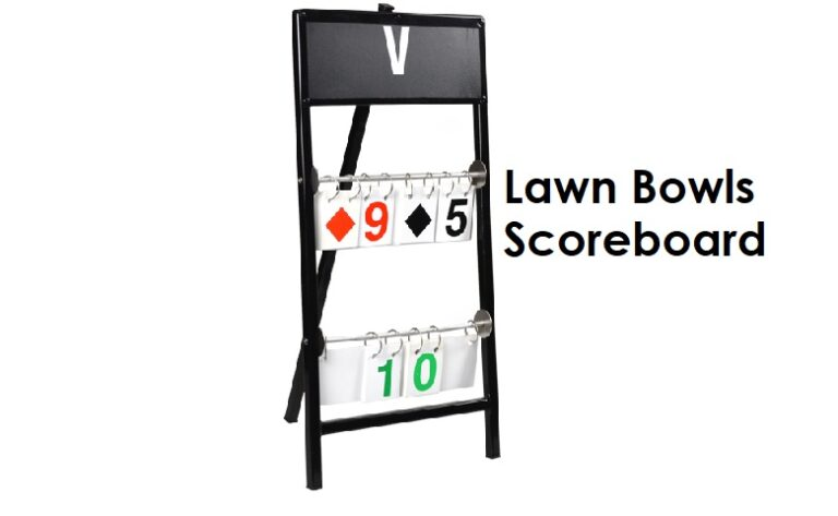 Lawn Bowls Scoreboard Australia | Buy Online | Ozybowls | Indoor Bowls Scoreboard